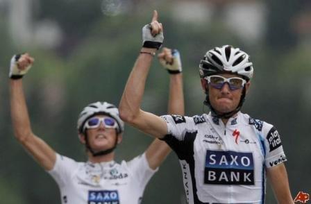 Победа Фрэнка Шлека на этапе ТдФ 2009