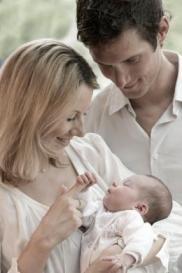 Фрэнк с женой и дочерью