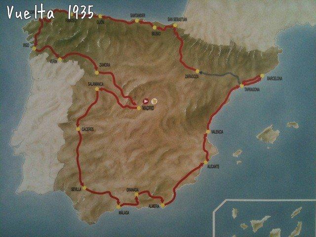Страницы истории велоспорта: Вуэльта Испании - 1935