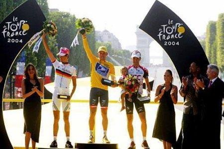 Страницы истории велоспорта: Тур де Франс - 2004