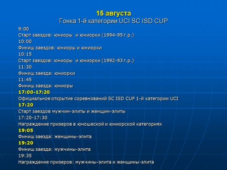 Гонка 1-й категории по маунтинбайку. Донецк