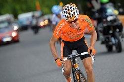 Игор Антон на 11-м этапе Вуэльты Испании-2010