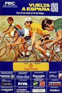 Страницы истории: Vuelta a Espana-1981