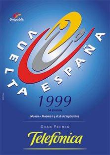 Страницы истории велоспорта: Вуэльта Испании - 1999