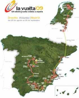 Страницы истории велоспорта: Вуэльта Испании - 2009