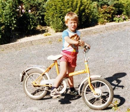 Тор Хушовд в детстве