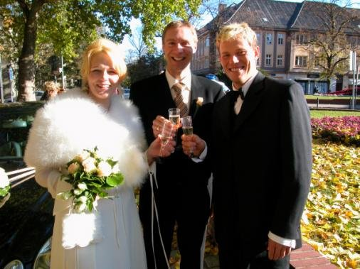 Тор на свадьбе Йенса Фохта в 2003 году