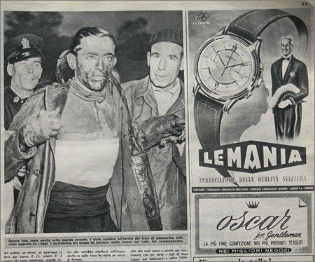 Фаусто Коппи - победитель 1947 года