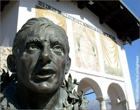 Памятник Фаусто Коппи