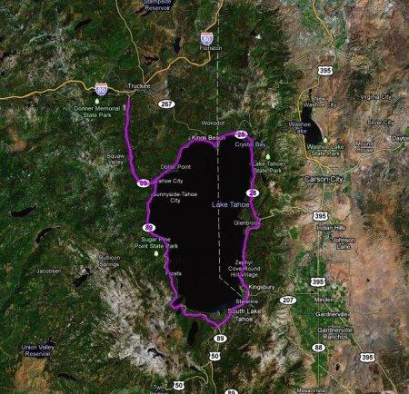 Объявлен маршрут велогонки Тур Калифорнии-2011