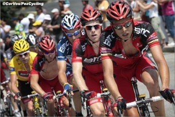 Команда BMC Racing на Тур де Франс - 2010