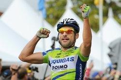 Победа Кикки на этапе Тура Калифорнии. Photo (c) TDWFun