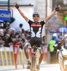 Победа на 6-м этапе Париж-Ницца 2010
