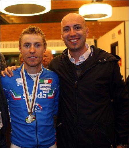 Алекс Карера с Дамиано Кунего