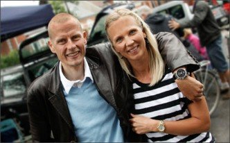 Михаэль Расмуссен и Кристина Хембо Photo (c) Christina Design London Aps.