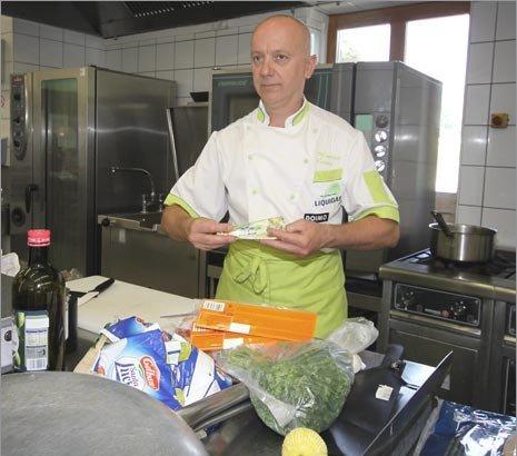Шеф-повар Liquigas. Photo (c) Gordan Cameron/PEZCYCLINGNEWS
