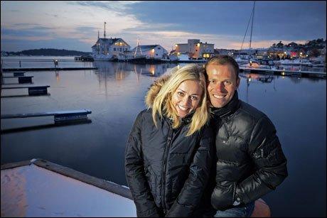 Тор Хушовд с женой Сюзанной. Photo (c) Espen Sjølingstad Hoen