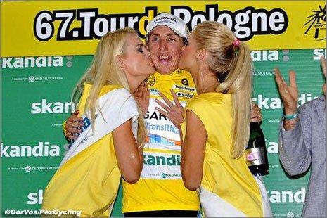 Дэн Мартин - победитель Тура Польши-2010