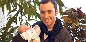 Иван Бассо с сыном Леванте. Photo (c) Bettini
