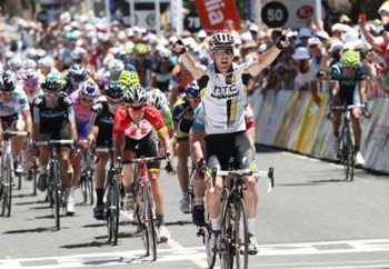 Победный финиш Мэтта Госса на первом этапе Tour Down Under