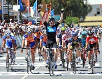 Tour Down Under - 2011, 2-й этап. Победный финиш Бена Свифта