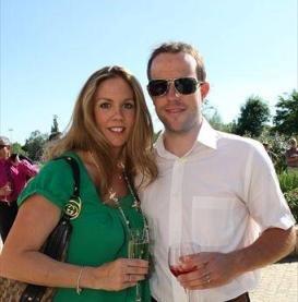 Ким Кирхен с женой Каролиной. Лето 2010