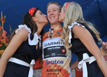 Кэмерон Мейер - победитель Tour Down Under 2011. Photo (c) Graham Watson