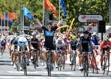 Бен Свифт выиграл 6-й этап Tour Down Under 2011. Photo (c) Graham Watson