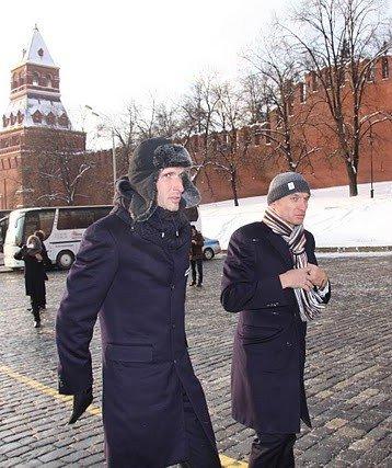 Владимир Карпец и Сергей Иванов