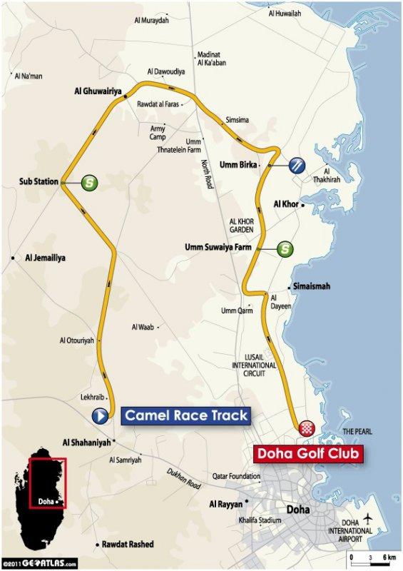 Tour of Qatar - 2011. Этап 2. Image (c) ASO