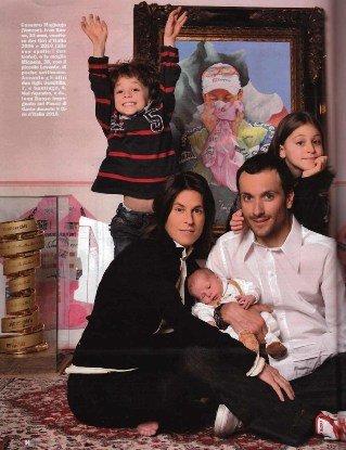 Иван Бассо семьей. Photo (c) Stefano Masse
