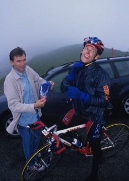 Йохан Брюнель и Лэнс Армстронг. Photo (c) lancearmstrong.com