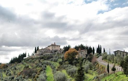 Castello di San Donato в окрестностях Гайоле