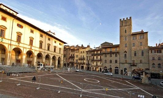Главная площадь Ареццо