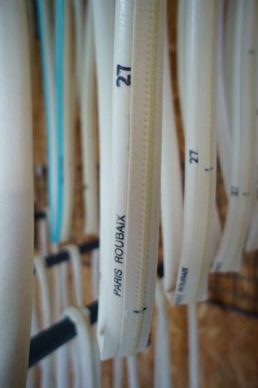 Велосипедные трубки 27 мм, для Париж - Рубе. Photo (c) Philip Gale
