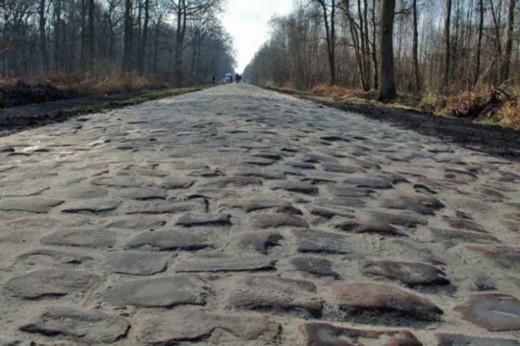Три секции брусчатки 4-го этапа Тур де Франс-2015 на Париж-Рубэ