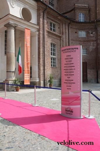 Venaria Reale Giro d'Italia