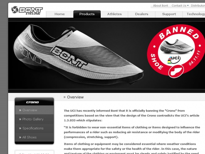 http://www.bont.com/cycling/items/contact.html