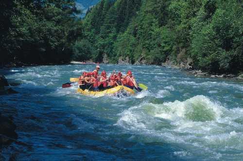 Rafting Möll