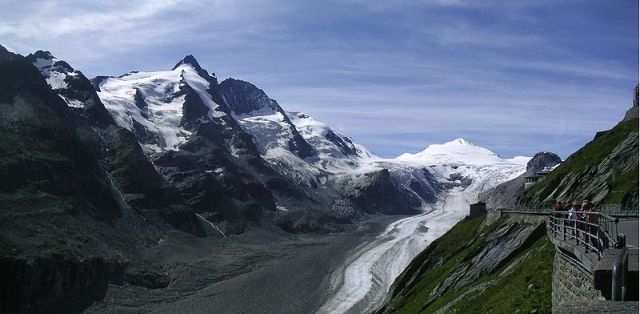 вид на ледник Пастерце