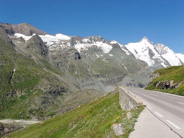 панорамная дорога Австрии