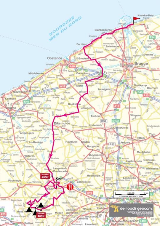25-29 мая Ronde van Belgie 2011