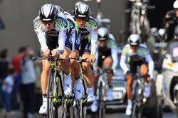 Geox-TMC на первом этапе Джиро