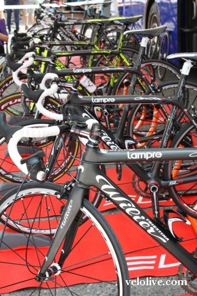 Велосипеды Lampre