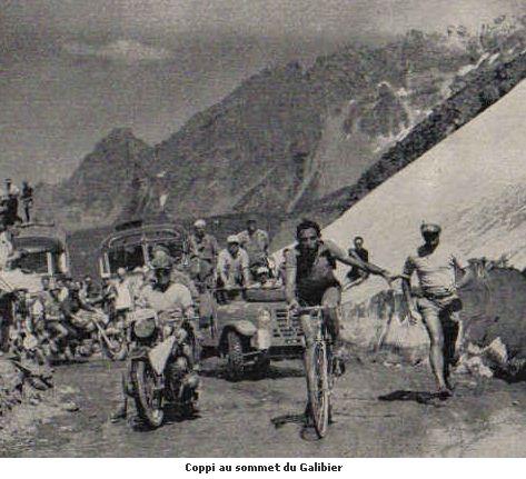 Коппи на Тур де Франс 1952