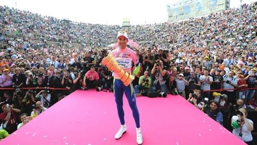 Иван Бассо. Джиро д'Италия - 2010