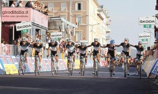 Джиро д'Италия - 2011. 4-й этап