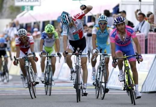 Джиро д'Италия - 2011. 7-й этап