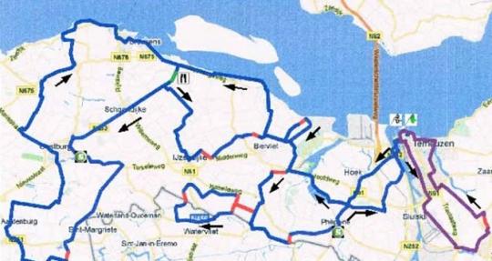 10-12 июня Дельта Тур Зииланд - 2011