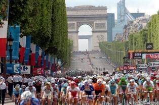 Елисейские Поля, Тур де Франс